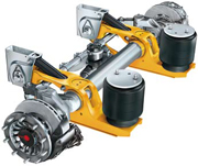 intra self steering axle